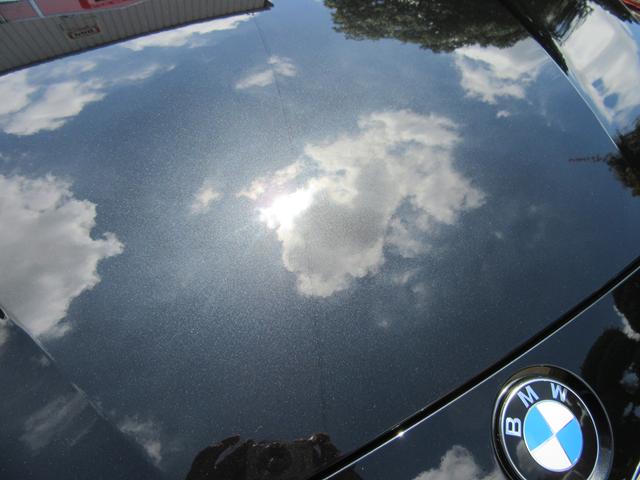 2014年式BMW320dコーティング施工作業