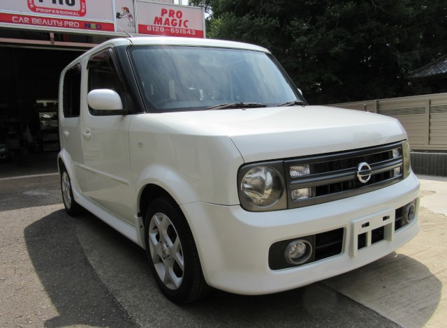 U-CAR 日産 Cube RX 納車!